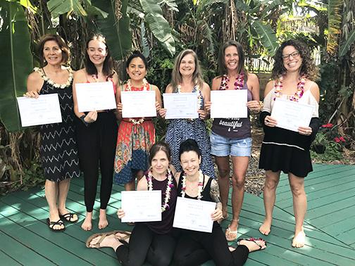 graduate 200 hr yoga alliance certificate