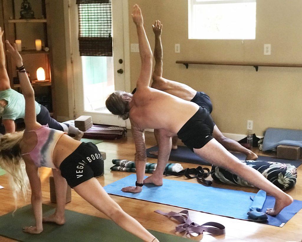 patanjali maui yoga sutras asana revolved crescent