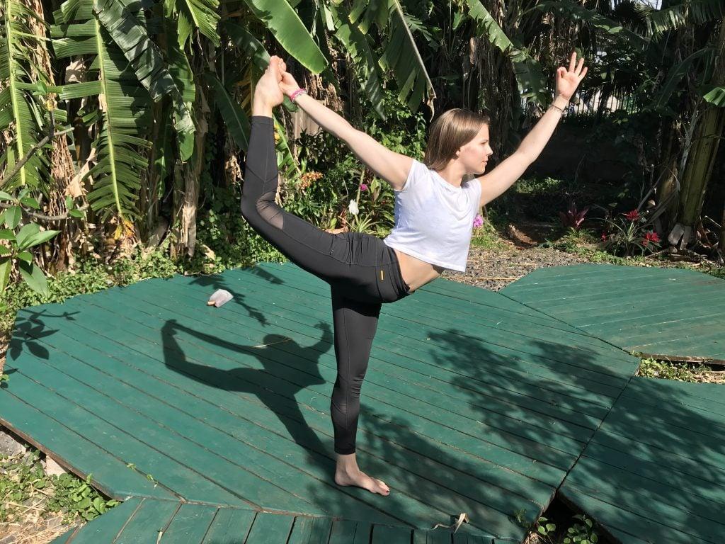 Natarajasana Maui Yoga Shala