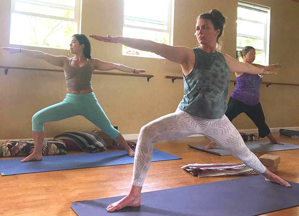 yoga and food special package Maui