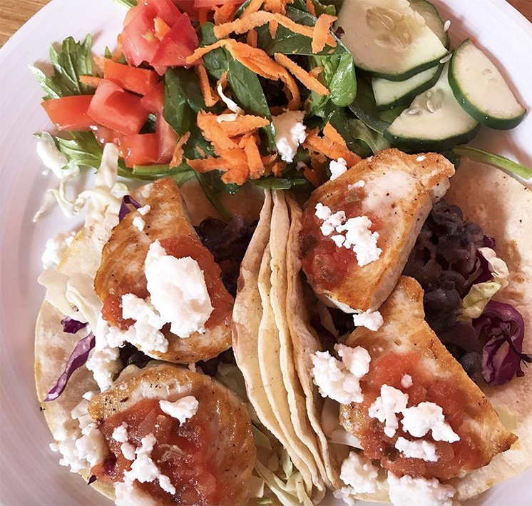 fish tacos paia lunch