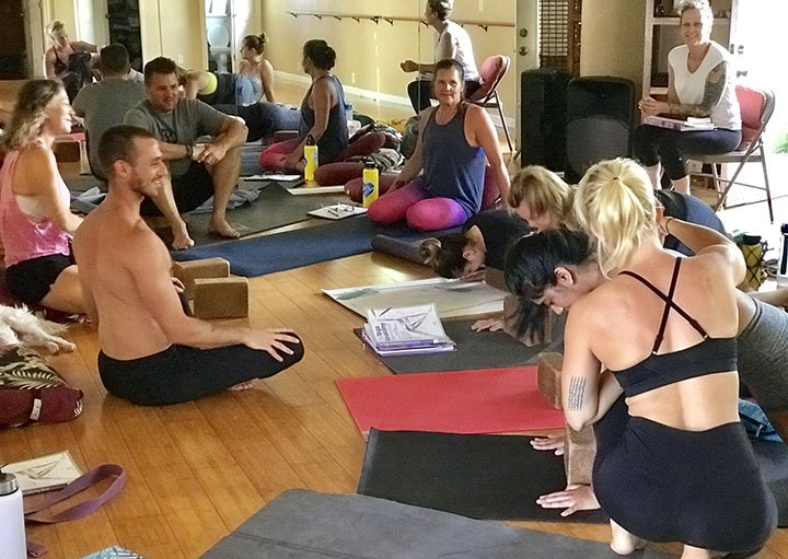 Yoga teacher training philosophy