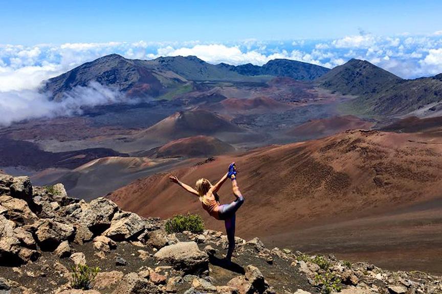 yoga on haleakala maui retreat