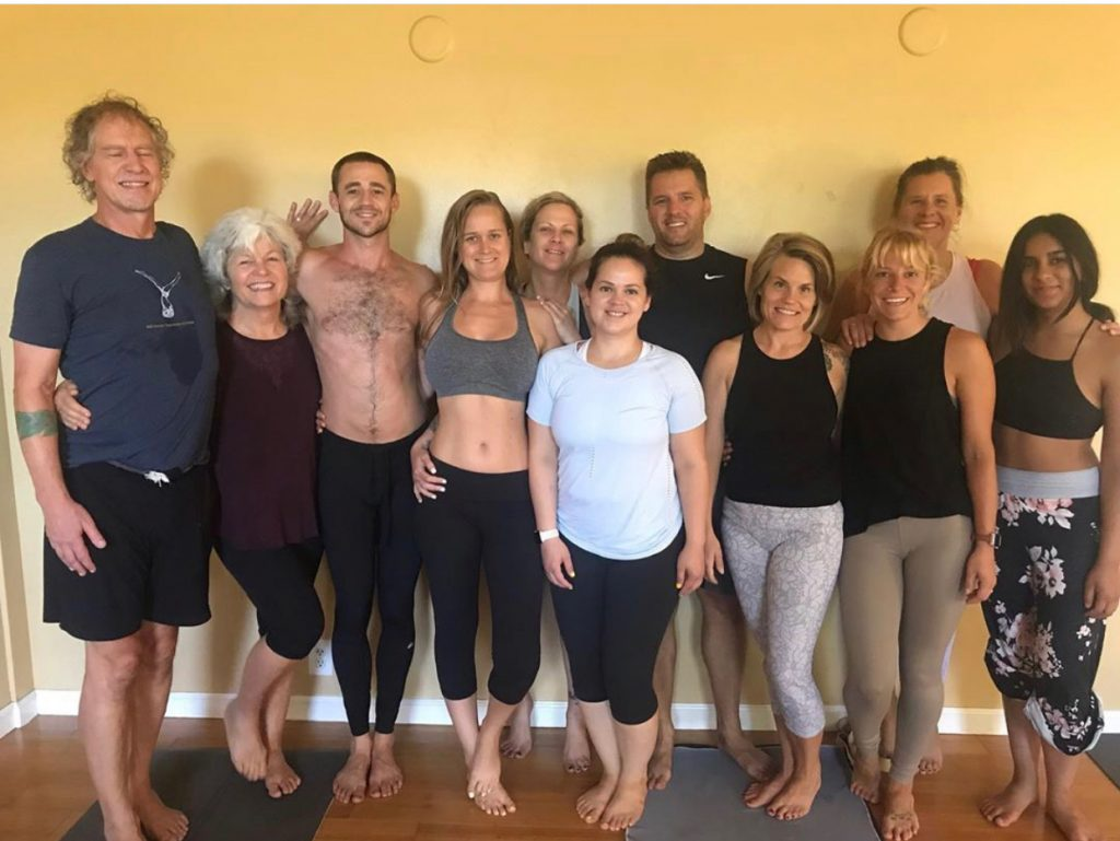 yoga teacher training on Maui