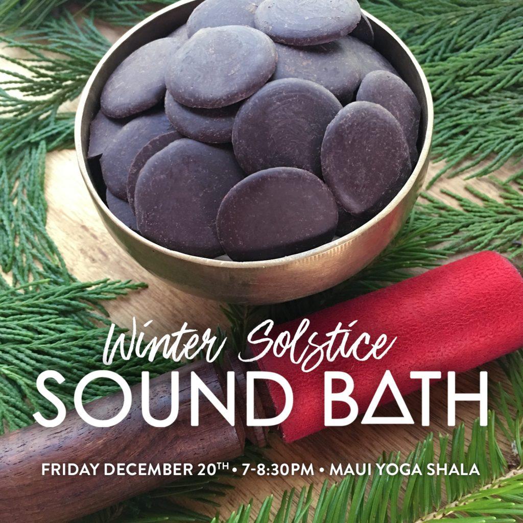 winter solstice sound bath healing shanti