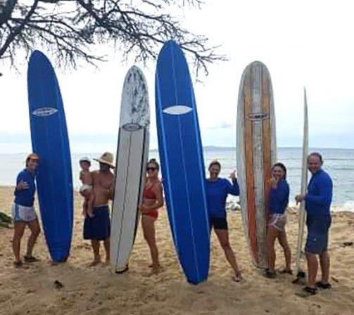 paia maui surf lessons