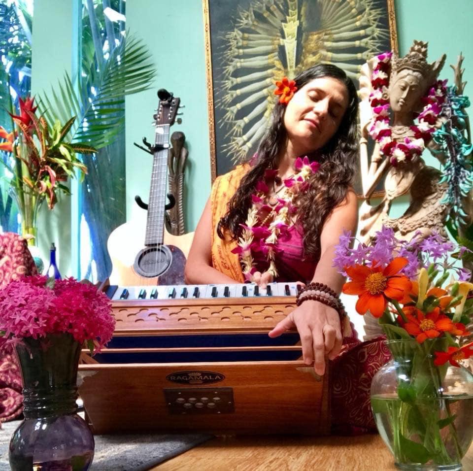 women's sacred song circle prema love mantra music chant bhakti