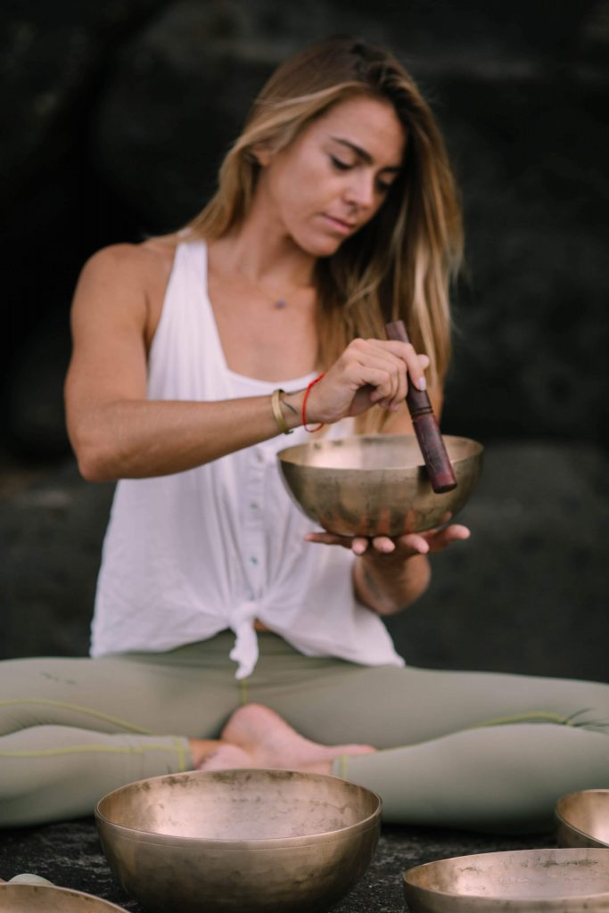 Yin yoga sound healing maui