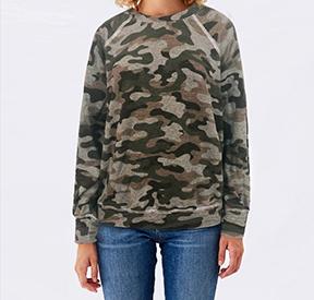 Camo Oversized Sweatshirt