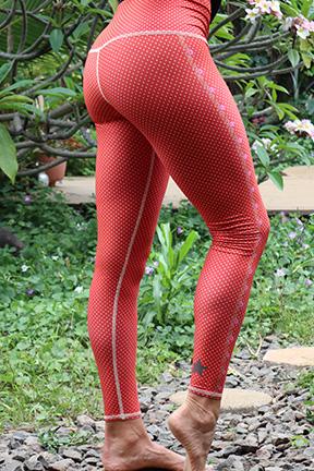 polka dot cowgirl legging