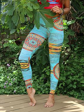 tribal legging