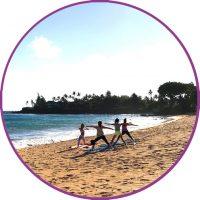 Icon Beach Yoga Circle